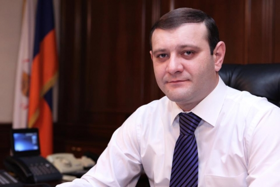 On the 17-th of April Mayor of Yerevan Taron Margaryan celebrates his 36-th anniversary