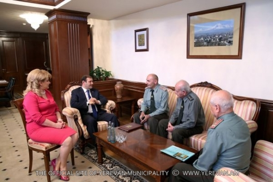 A meeting with the representatives of the Council of the RA Veterans' Union