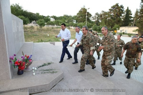 The Mayor of Yerevan visited the NKR Martouni district
