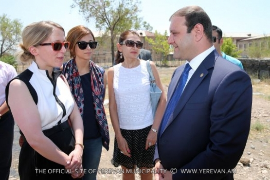 "Within the frames of ""Beautiful Yerevan"" project ""Malatia"" park is being overhauled"