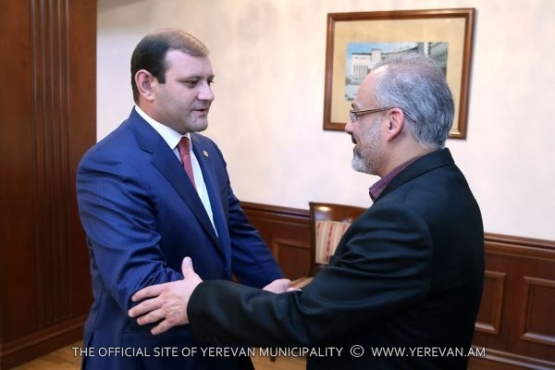 Mayor Taron Margaryan had a meeting with the leader of the 5th district of Isfahan, Iran