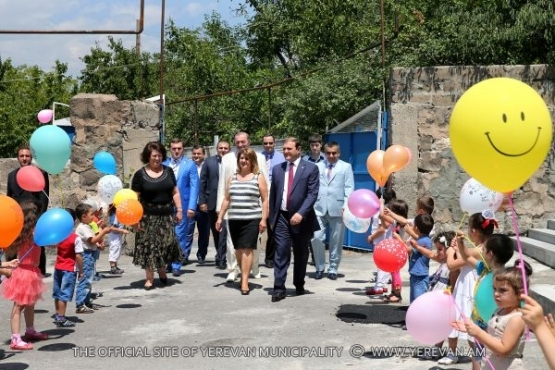 Yerevan Mayor Taron Margaryan had a working visit to Nork Marash district