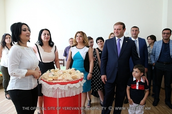 A working visit of Mayor Taron Margaryan to the administrative district of Avan
