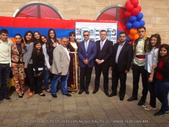 The delegation of Yerevan took part in the events dedicated to the 265th anniversary of Rostov-on-Don