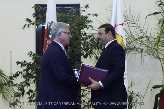 Yerevan and Krasnodar signed the agreement on interaction and cooperation