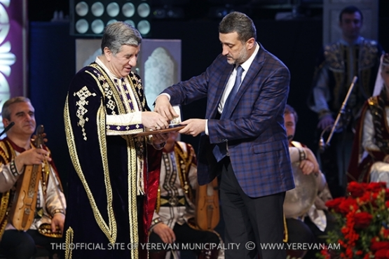 Tovmas Poghosyan has been awarded with Yerevan Mayor's medal