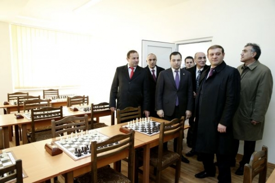 The program of chess schools foundation scheduled for 2014 has been completed