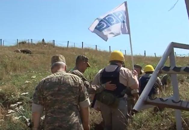 Миссия ОБСЕ провела усиленный мониторинг линии соприкосновения вооруженных сил Нагорного Карабаха и Азербайджана