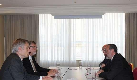 Глава МИД НКР обратил внимание спецпредставителя ЕС на агрессию Азербайджана, сопровождавшуюся многочисленными военными преступлениями