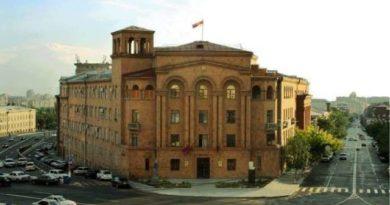 Криминальная обстановка в Республике Армения (10.05.2016-11.05.2016)