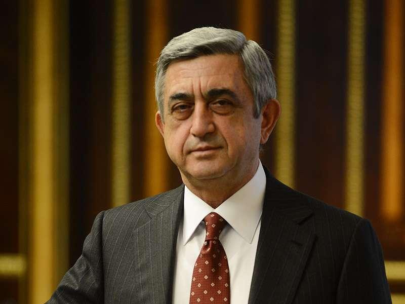 Президент Серж Саргсян подписал закон «О внесении дополнения в закон Республики Армения «О кассовых операциях»