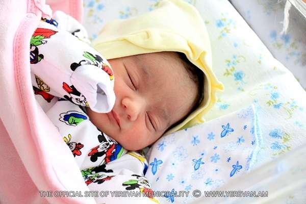 С 29-го апреля по 5-е мая в Ереване родилось 386 детей