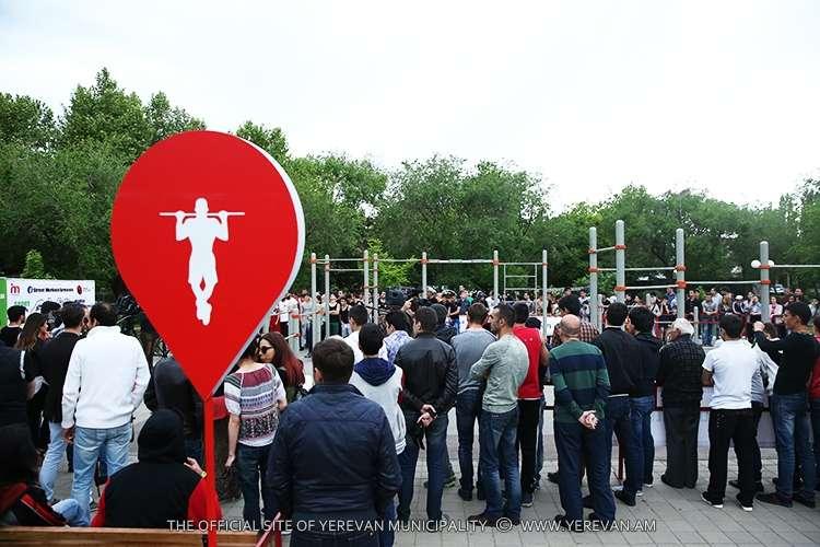 В Ереване состоялось традиционное мероприятие «Street Workout Challenge»