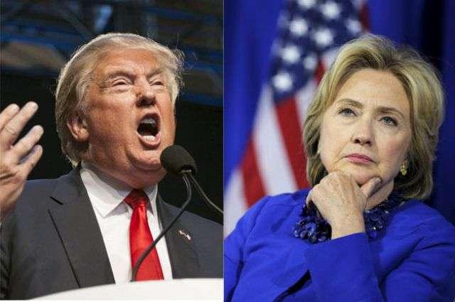 Опрос: около половины американцев готовы голосовать за Трампа, лишь бы не выиграла Клинтон