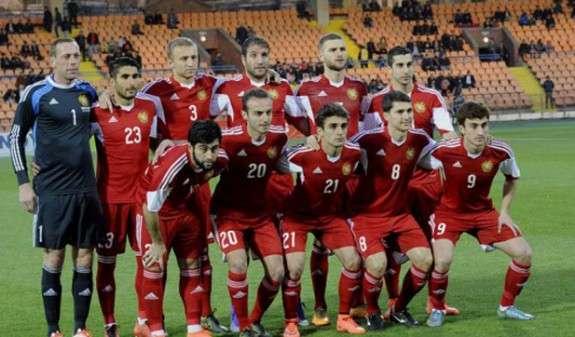 Сборная Армении по футболу сохранила 110-е место в рейтинге ФИФА