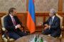 Սերժ Սարգսյանն ընդունել է Ռուսաստանի Արտաքին հետախուզության ծառայության տնօրենին