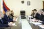 Դավիթ Հարությունյանն ԱՄՀ ներկայացուցչի հետ քննարկել է հակակոռուպցիոն ոլորտում իրականացվող աշխատանքների ընթացքը