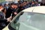 Լարված իրավիճակ՝ Արշակունյաց փողոցում. Կին վարորդը հրաժարվում է վարել մեքենան
