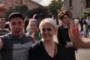 Սերժ Սարգսյանի հրաժարականից հետո հրապարակում տոնախմբություն է սկսվել /ուղիղ/