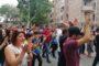 Էջմիածնում շարունակում են պահանջել Կարեն Գրիգորյանի հրաժարականը. Մի շարք փողոցներ փակ են