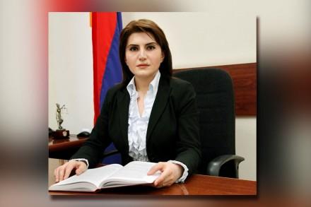 Լիլիթ Թադևոսյանը նշանակվել է Վճռաբեկ դատարանի քրեական պալատի նախագահ