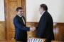 Վալերիյ Օսիպյանն ընդունել է ՀՀ-ում Վրաստանի արտակարգ և լիազոր դեսպան Գիորգի Սագանելիձեին