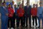 Նախարարը դիմավորել է ջրացատկի Եվրոպայի առաջնության բրոնզե մեդալակիրներին