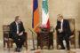 Տեղի է ունեցել Նիկոլ Փաշինյանի և Լիբանանի նախագահի հանդիպումը