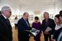 Արմեն Սարգսյանը տիկնոջ՝ Նունե Սարգսյանի այցելել է Հայաստանում Գերմանիայի դեսպանություն