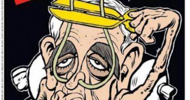 Խոսքի ազատությո՞ւն, թե՝ ծաղր. «Շառլի Էբդո»-ն հրապարակել է Շառլ Ազնավուրի ծաղրանկարը