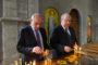 Արմեն Սարգսյանը հանդիպել է Արցախի նախագահ Բակո Սահակյանի հետ