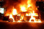 Ամբողջությամբ այրվել է «Nissan Tiida» մակնիշի ավտոմեքենան