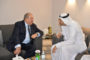 Նախագահը հանդիպել է ՄՈՒԲԱԴԱԼԱ ներդրումային ընկերության գործադիր տնօրեն Քալդուն Խալիֆա Ալ Մուբարաքի հետ