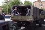 Ոստիկանական զորքեր բերվեցին դատարանի մոտ, որտեղ քննվում է Քոչարյանի գործը /լուսանկարներ/, /ուղիղ/