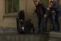 Դատավոր Դավիթ Բալայանը փորձեց պատուհանից մտնել դատարան, սակայն վայր ընկավ /տեսանյութ/
