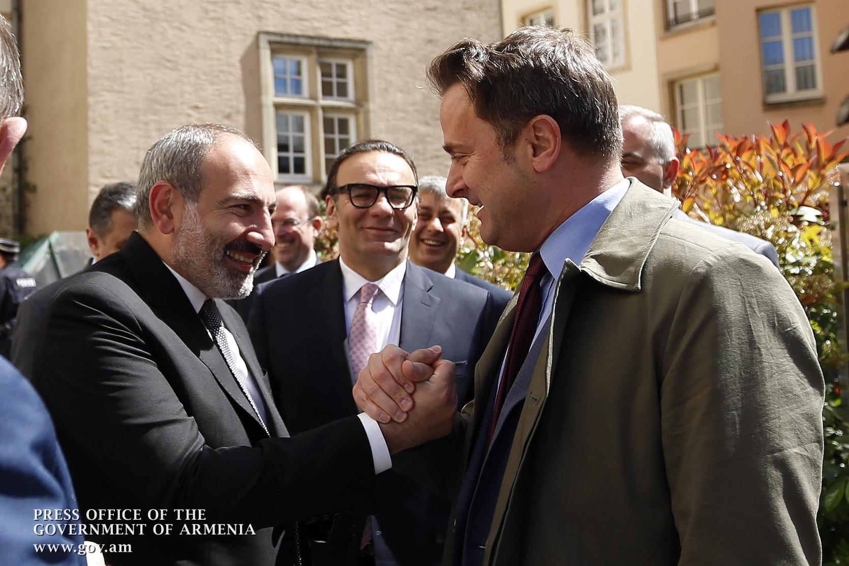 Լյուքսեմբուրգը պատրաստ է ակտիվորեն օժանդակել Հայաստանի կառավարությանը