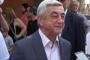 Սերժ Սարգսյանը խոսել է լրագրողների հետ