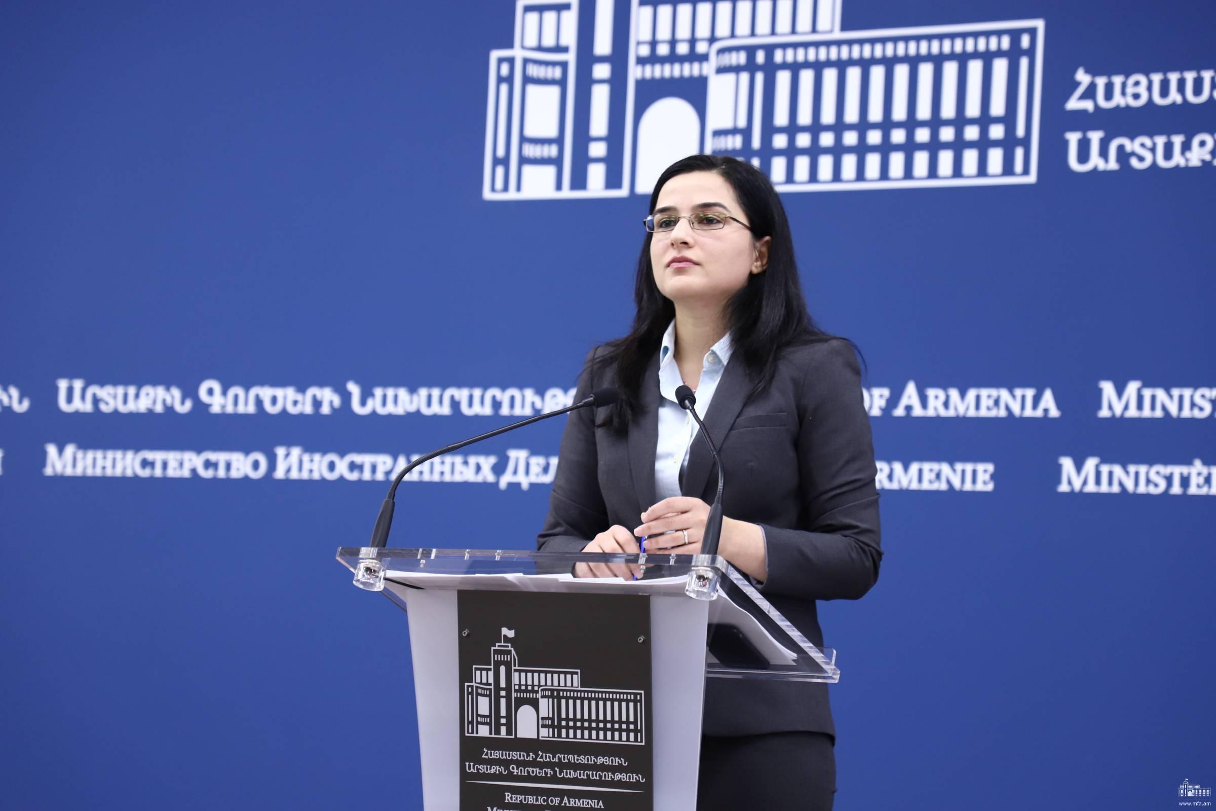 Հրադադարի միտումնավոր և սադրիչ խախտումների ողջ պատասխանատվությունն ընկնում է ադրբեջանական կողմի վրա