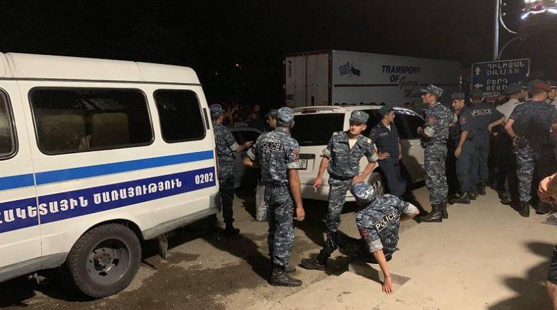 13 անձ ձերբակալվել է՝ Իջևանում զանգվածային անկարգություններին մասնակցելու կասկածանքով. Նրանք հարցաքննվել են