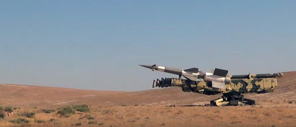 Ադրբեջանը մարտական կրակ է իրականացրել զենիթահրթիռային համակարգերից (լուսանկարներ)