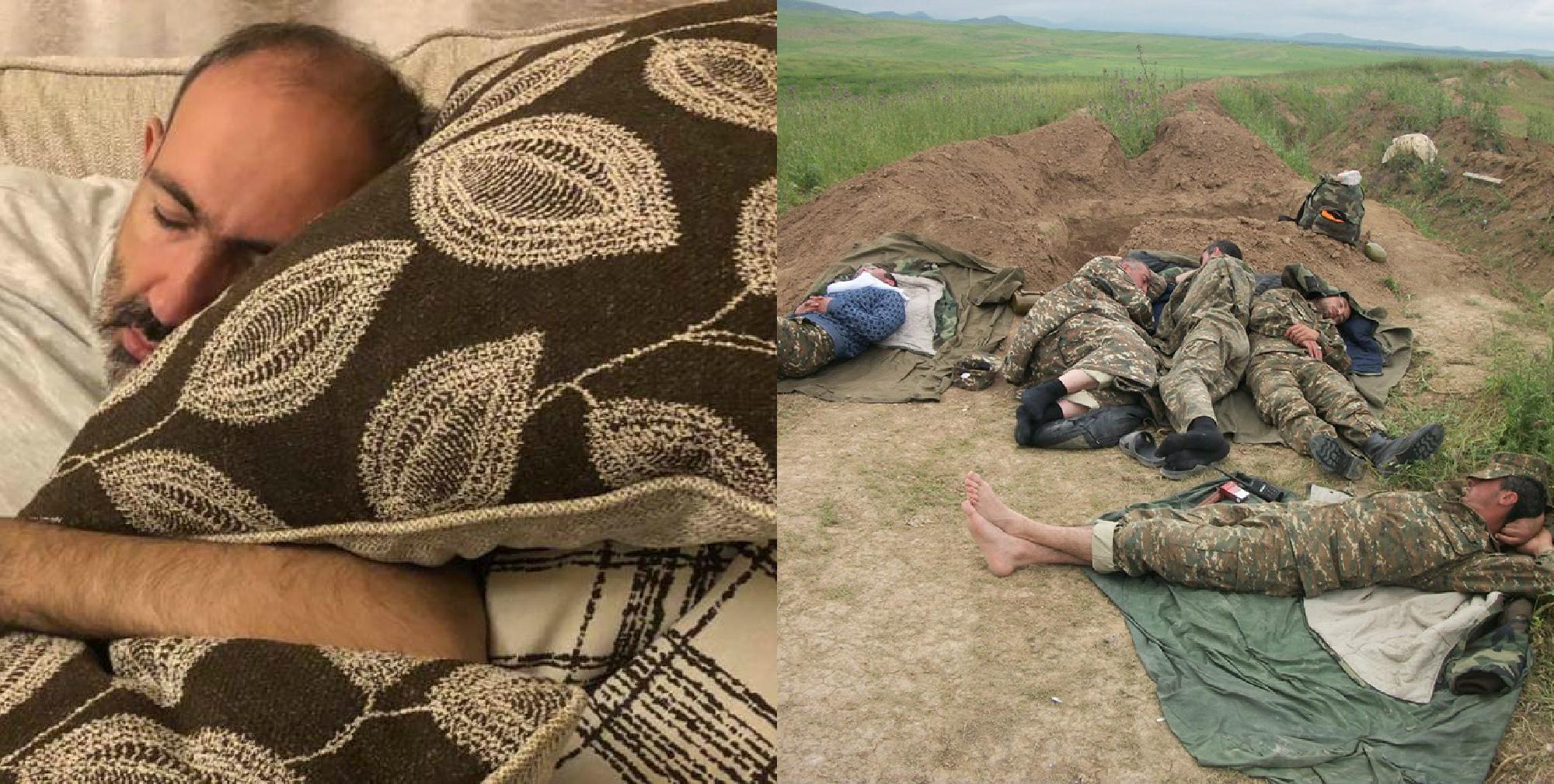 «24/7 աշխատելու հետեւանքը»...Տարբերությունը .... Պատերազմի մեջ ենք եղել, ռումբերի,արեւի ու անձրևի տակ, խոնավ անտառներում ենք փորձել քնել