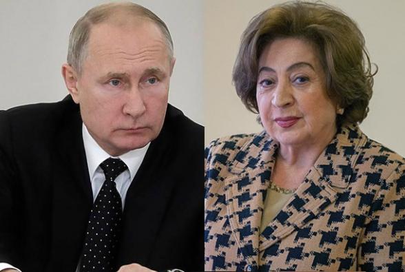 Մոսկվային այդքան էլ չի հետաքրքրում, թե Պուտին- Բելլա Քոչարյան հանդիպումը ինչպես կընկալի Փաշինյանը.168 ժամ