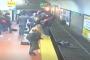 Տեսախցիկը ֆիքսել է, թե ինչպես է կինն ընկնում գնացքի ռելսերի վրա /տեսանյութ/