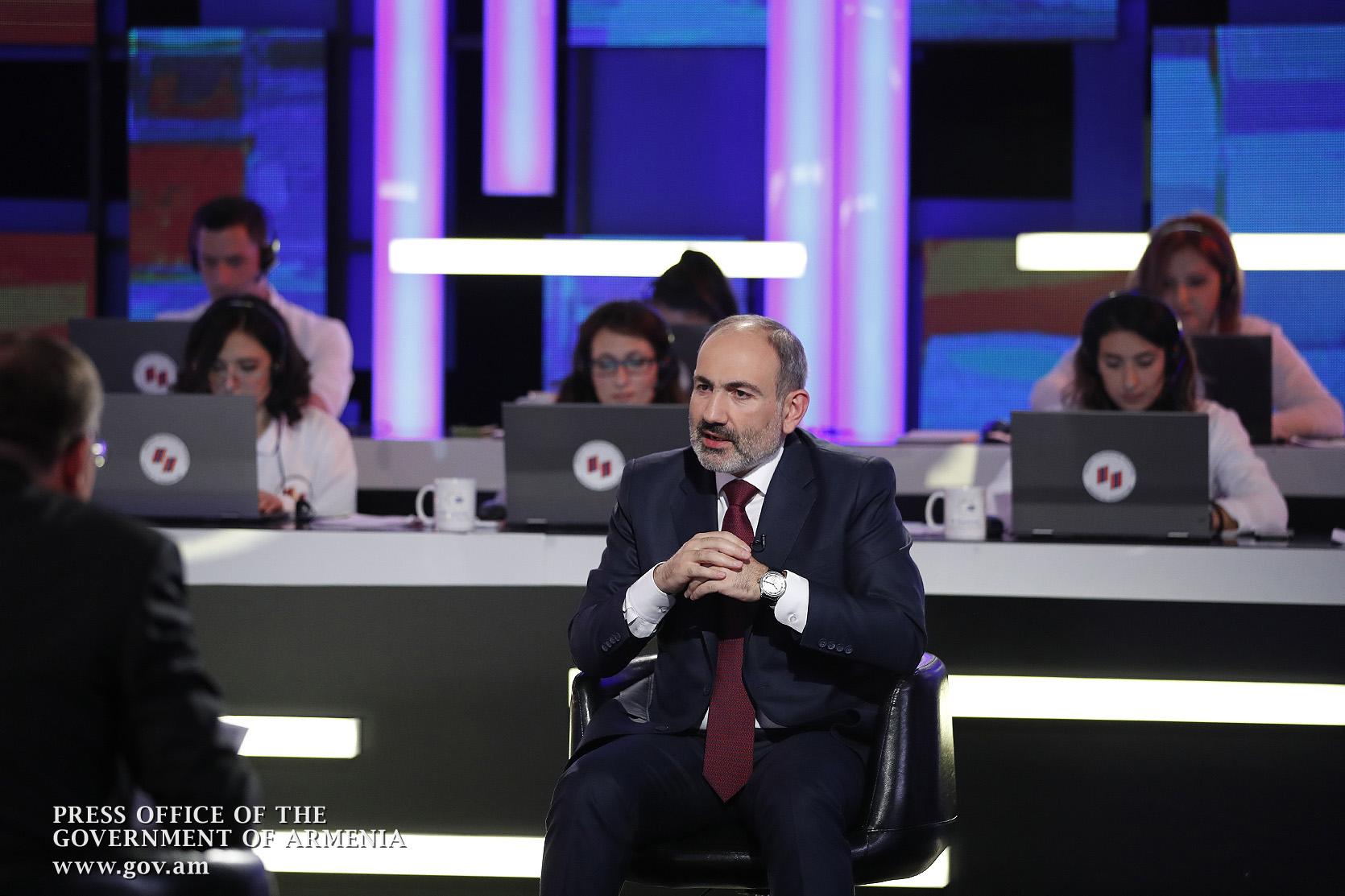 Հայաստանի և Արցախի ապագան կախված է մեկ մարդուց և այդ մեկ մարդը ես եմ. Փաշինյանի բանաձևը