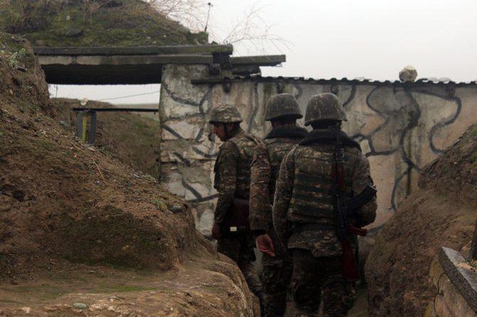 Ադրբեջանական ԶՈւ-երի բացած կրակի արդյունքում հայ զինծառայող է վիրավորվել