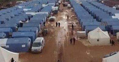 Սիրիայի Իդլիբի շրջանից տեղահանվածների համար նոր ճամբար է ստեղծվել /տեսանյութ/