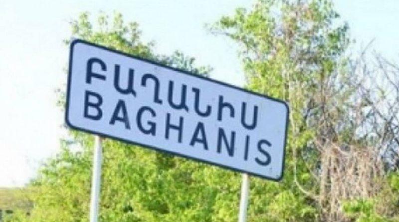 Ադրբեջանական զինուժը գնդակոծել է Բաղանիսը