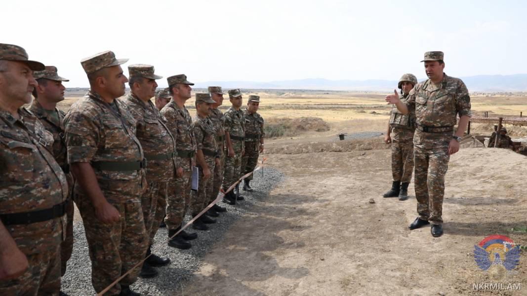 Անհրաժեշտության դեպքում մարտական գործողությունները տեղափոխելու ենք Ադրբեջանի տարածք. Հրամանատարական հավաքներ՝ Արցախում