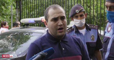 Նարեկ Սամսոնյանն ազատ արձակվեց. Նա պատմեց, թե ինչ պայմաններում են իրեն բերման ենթարկել