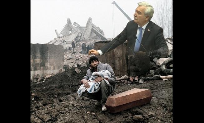 Սա է, «նոր՝ հին թալանչիների» Հայաստանը, վայելեք...երկրաշարժից հետո Անդրանիկ Քոչարյանն օգնություն ստացած տեխնիկան տարել է Հայաստանից՝ թալանելով երկիրը